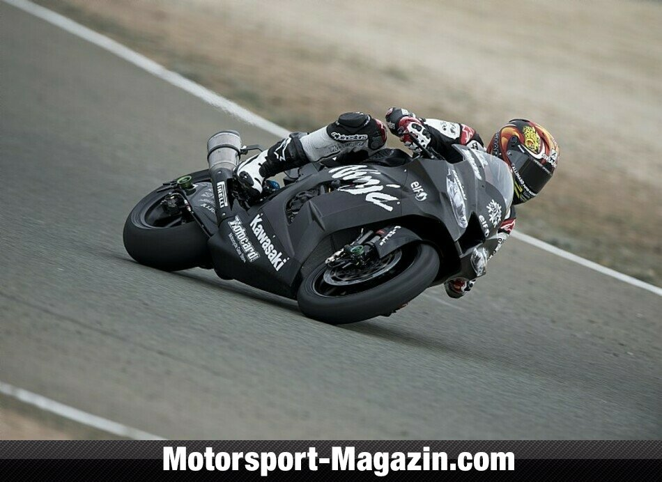 Superbike 2014, Testfahrten, Loris Baz, Kawasaki Racing Team, Bild: Kawasaki Racing Team