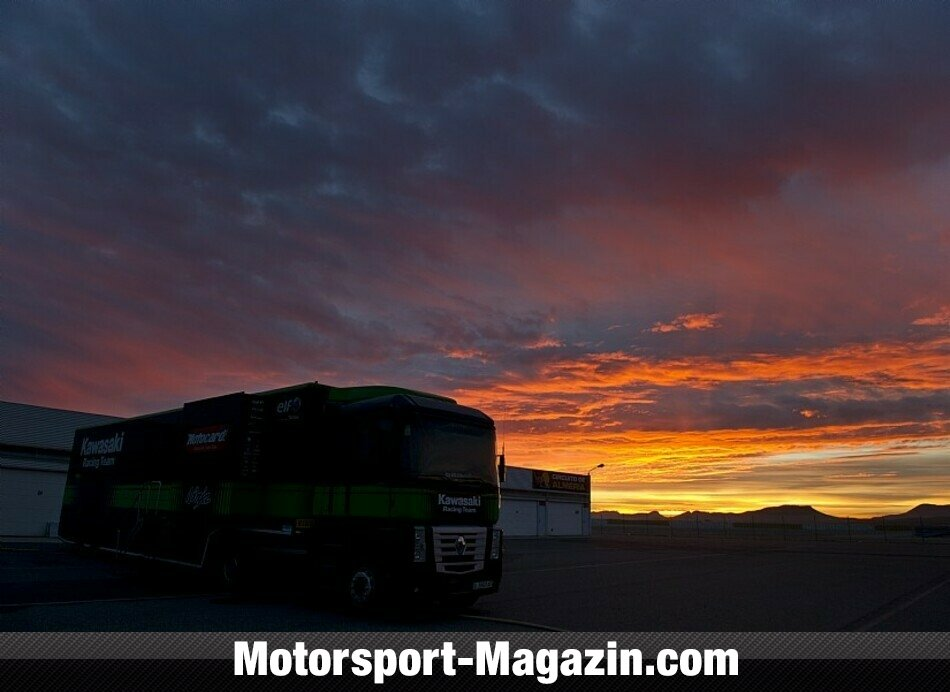 Superbike 2014, Testfahrten, Kawasaki Racing Team, Bild: Kawasaki Racing Team