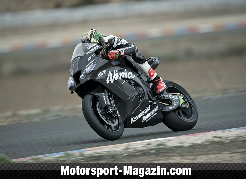 Superbike WSBK 2014, Testfahrten, Tom Sykes, Kawasaki Racing Team, Bild: Kawasaki Racing Team