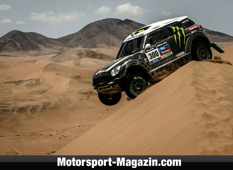 Dakar 2014, Stephane Peterhansel, X-raid, Bild: Shakedown Team