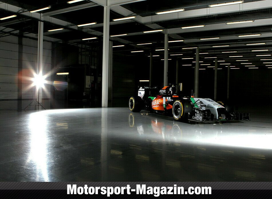 Formel 1 2014, Präsentationen, Force India, Bild: Force India