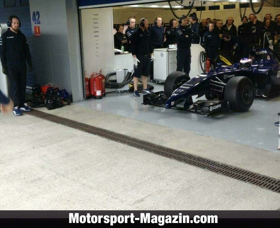 Formel 1 2014, Testfahrten, Williams, Bild: Williams