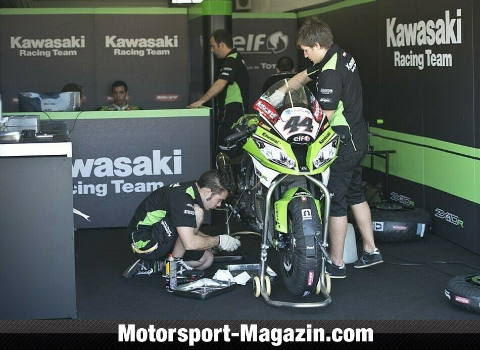 Superbike 2014, Testfahrten, David Salom, Kawasaki Racing Team, Bild: Kawasaki