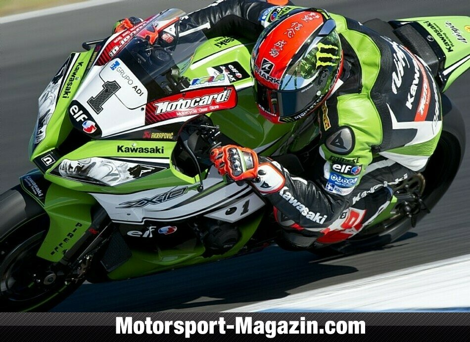 Superbike WSBK 2014, Testfahrten, Tom Sykes, Kawasaki Racing Team, Bild: Kawasaki
