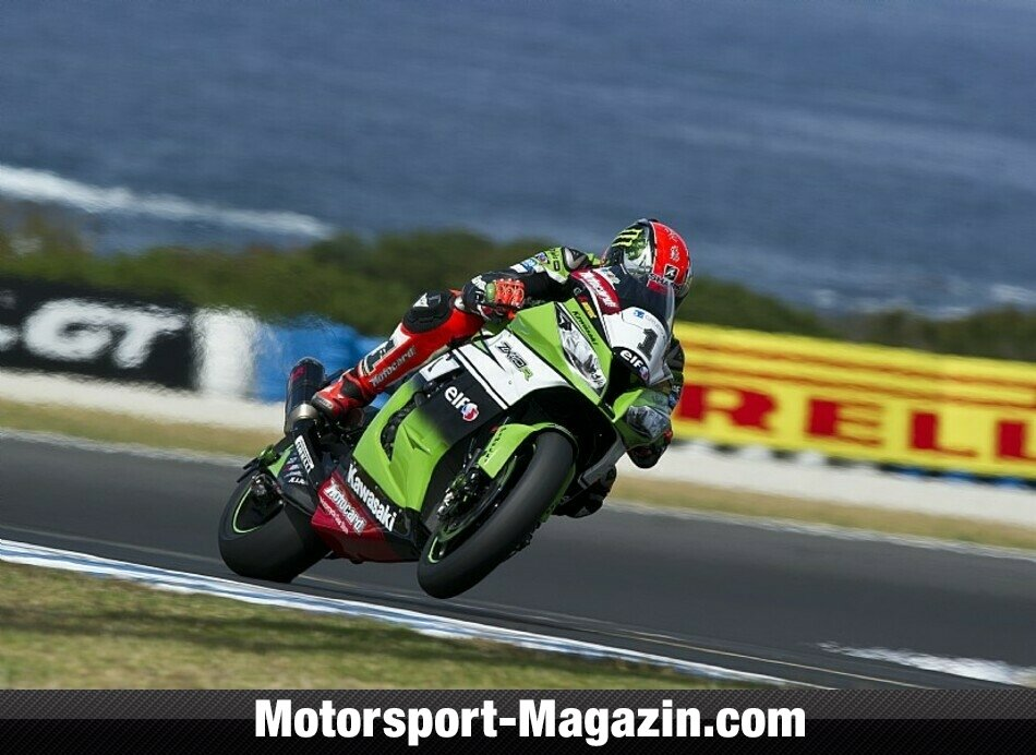 Superbike 2014, Testfahrten, Tom Sykes, Kawasaki Racing Team, Bild: Kawasaki
