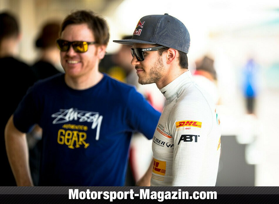 GP2 2014, Testfahrten, Daniel Abt, Hilmer Motorsport, Bild: Malcolm Griffiths/GP2 Series Media Service