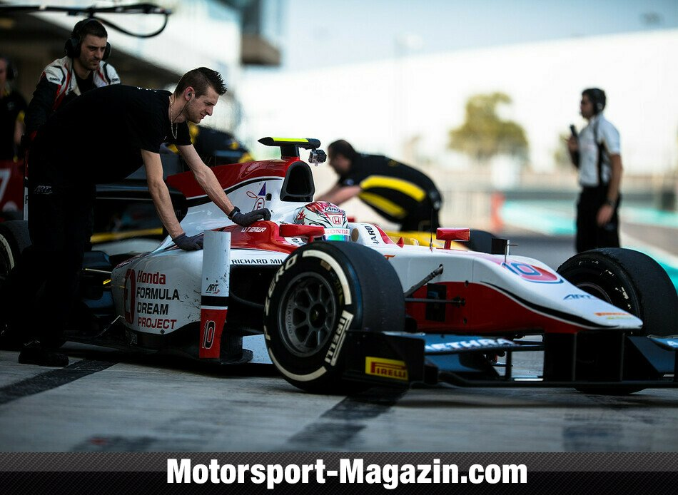 GP2 2014, Testfahrten, Stoffel Vandoorne, ART Grand Prix, Bild: Malcolm Griffiths/GP2 Series Media Service