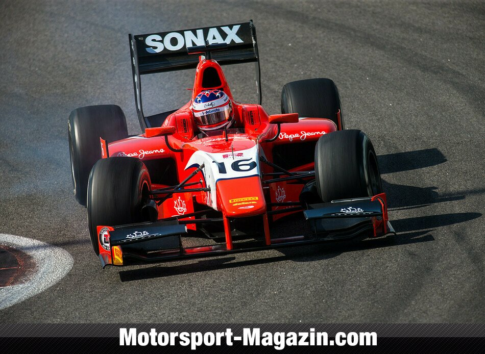 GP2 2014, Testfahrten, Rene Binder, Arden International, Bild: Malcolm Griffiths/GP2 Series Media Service