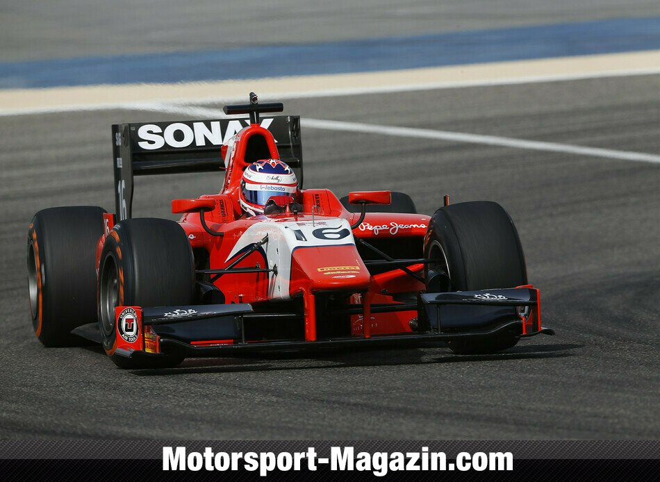 GP2 2014, Testfahrten, Rene Binder, Arden International, Bild: GP2 Series