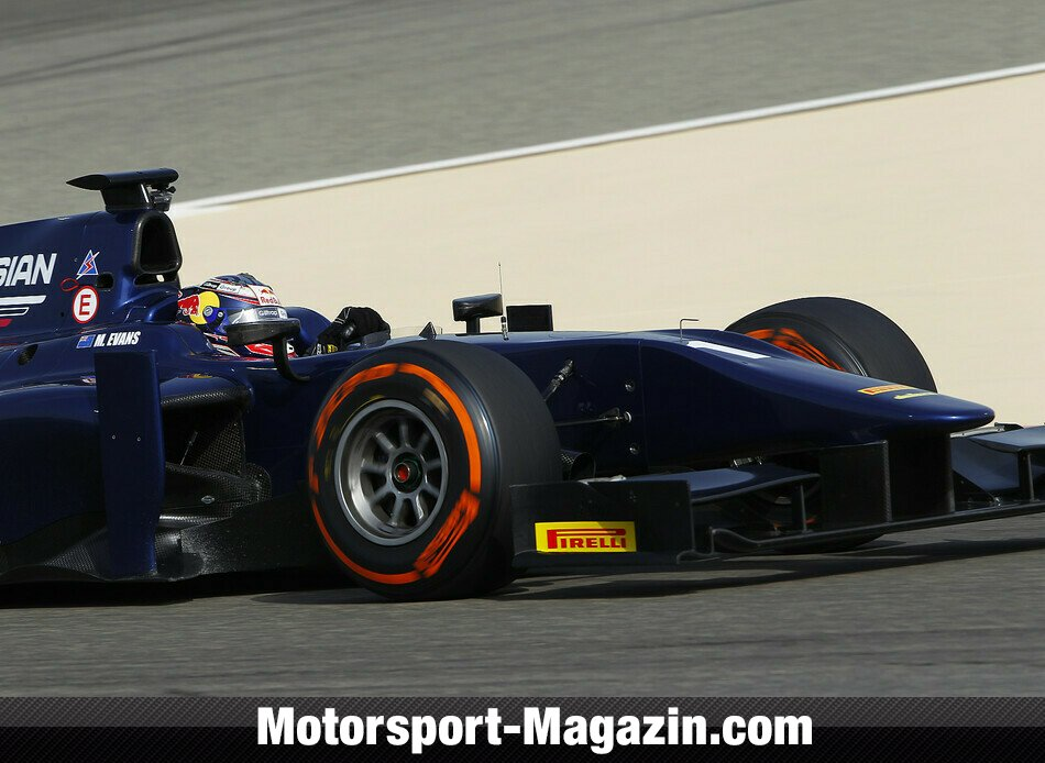 GP2 2014, Testfahrten, Mitchell Evans, RUSSIAN TIME, Bild: GP2 Series
