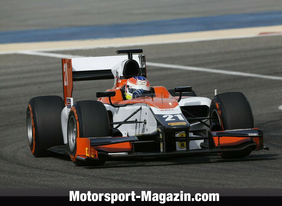 GP2 2014, Testfahrten, Jon Lancaster, MP Motorsport, Bild: GP2 Series