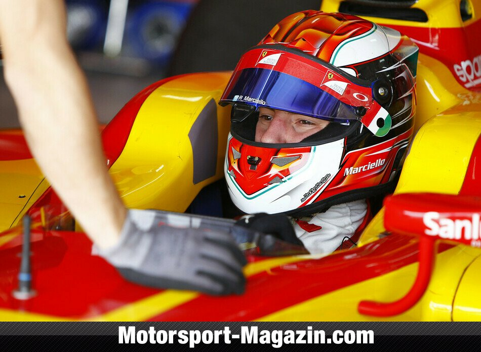 GP2 2014, Testfahrten, Raffaele Marciello, Racing Engineering, Bild: GP2 Series