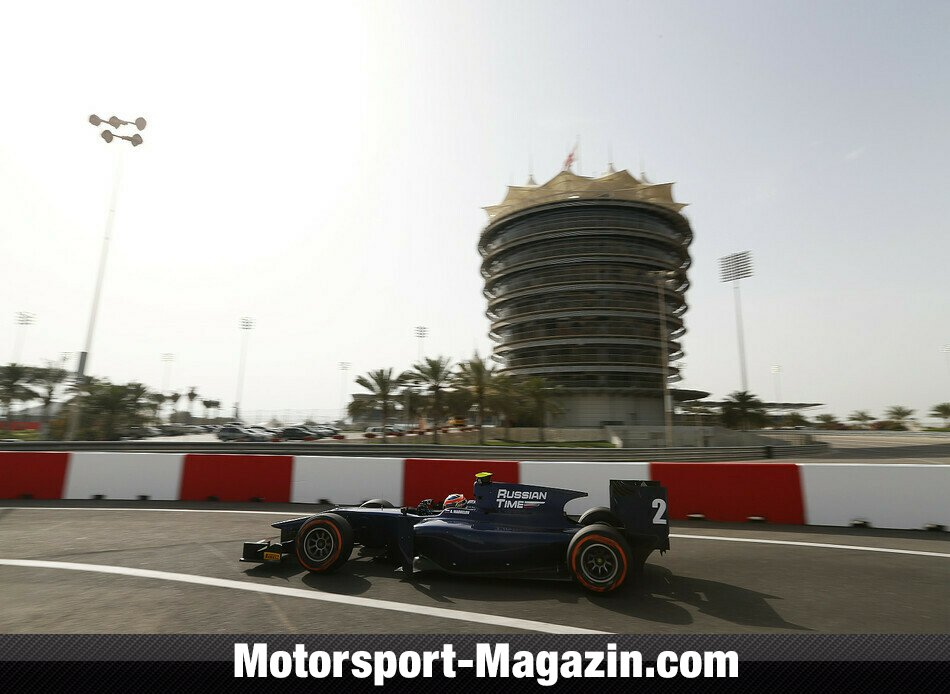 GP2 2014, Testfahrten, Artem Markelov, RUSSIAN TIME, Bild: GP2 Series