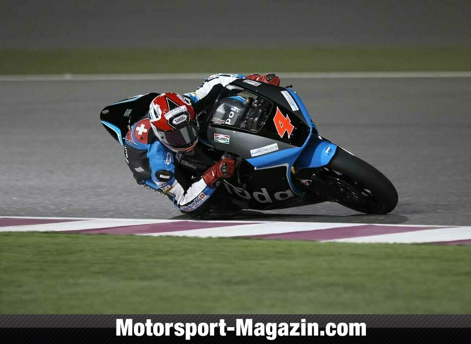 Moto2 2014, Katar GP, Losail, Randy Krummenacher, Ioda Racing Project, Bild: Ioda Racing