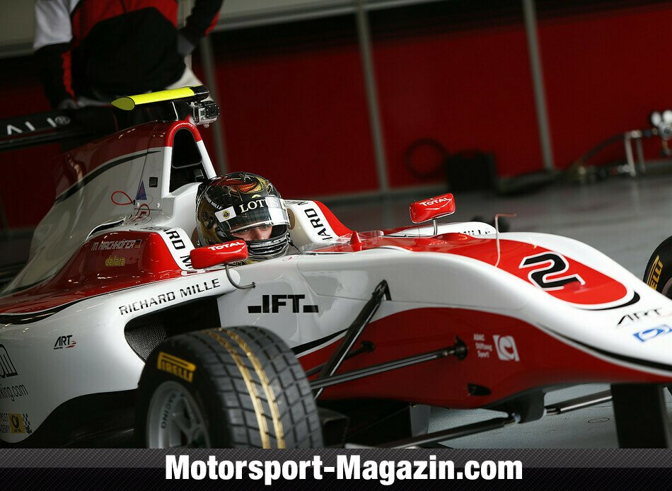 GP3 2014, Testfahrten, Carmen Jorda, ART Grand Prix, Bild: GP3 Series