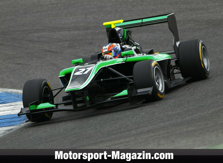 GP3 2014, Testfahrten, Richie Stanaway, Status Grand Prix, Bild: GP3 Series