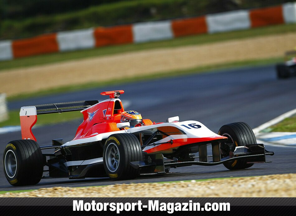 GP3 2014, Testfahrten, Dean Stoneman, Marussia Manor Racing, Bild: GP3 Series