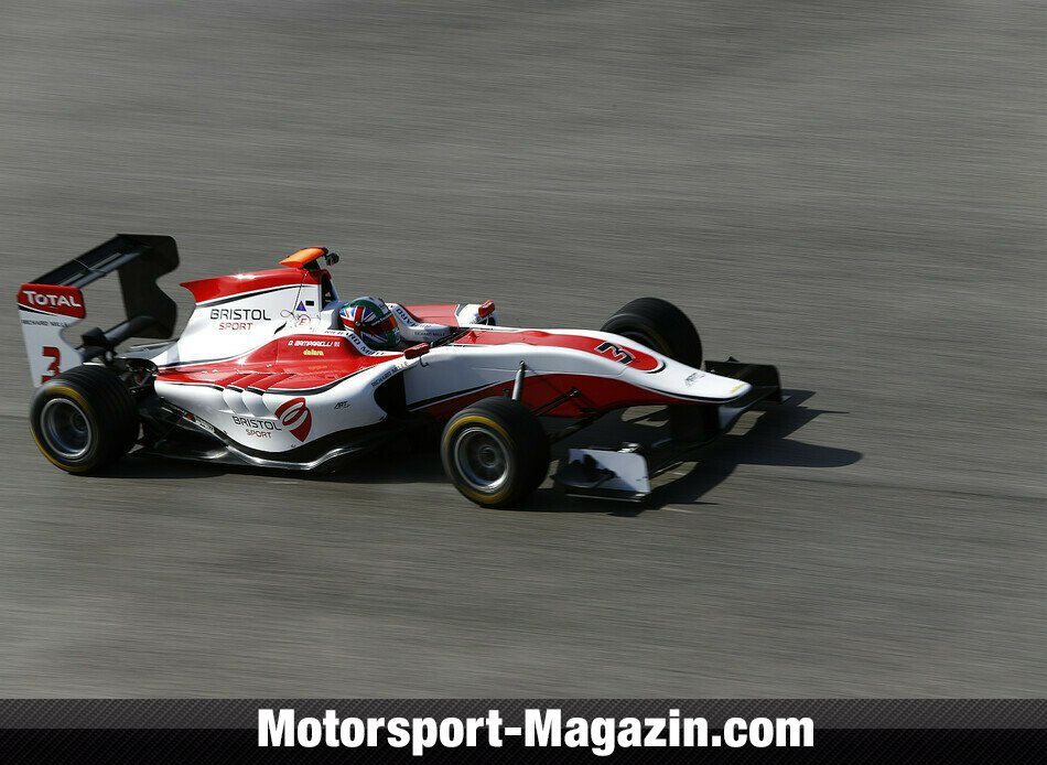 GP3 2014, Testfahrten, Dino Zamparelli, ART Grand Prix, Bild: GP3 Series