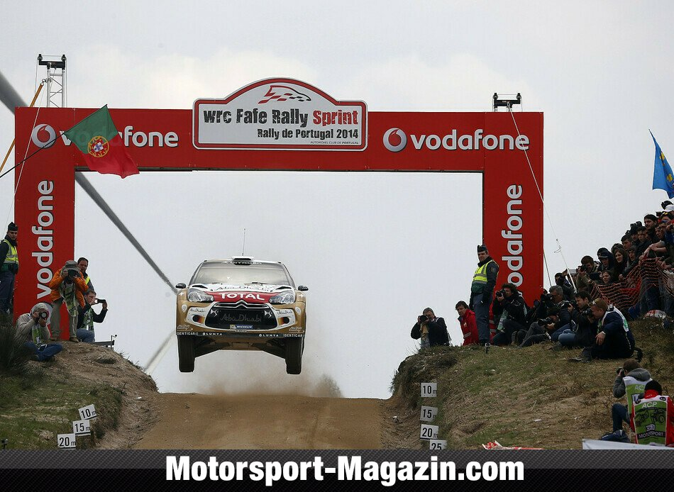 WRC 2014, Rallye Portugal, Matosinhos, Mads Östberg, Citroen World Rally Team, Bild: Citroen