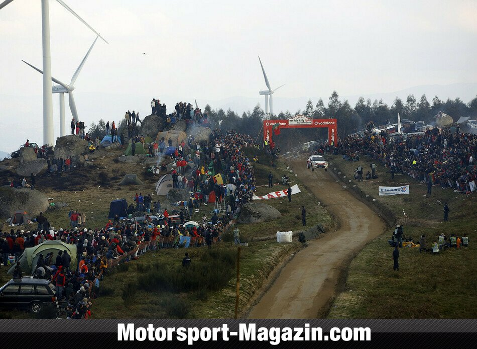 WRC 2014, Rallye Portugal, Matosinhos, Mads �stberg, Citroen World Rally Team, Bild: Citroen