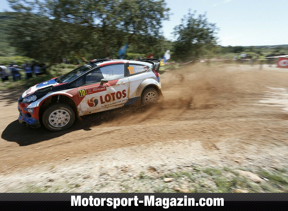 WRC 2014, Rallye Portugal, Matosinhos, Robert Kubica, RK M-Sport World Rally Team, Bild: Ford