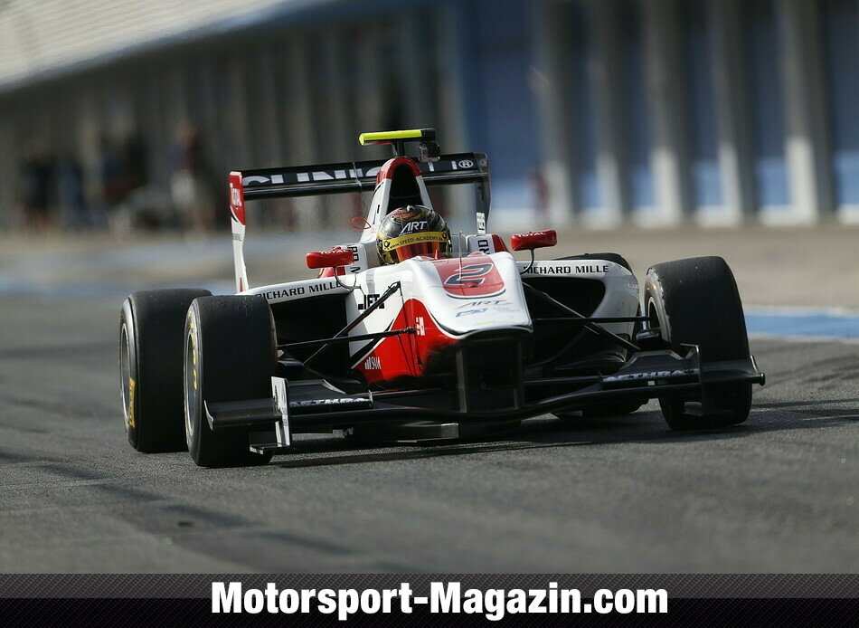GP3 2014, Testfahrten, Marvin Kirchh�fer, ART Grand Prix, Bild: GP3