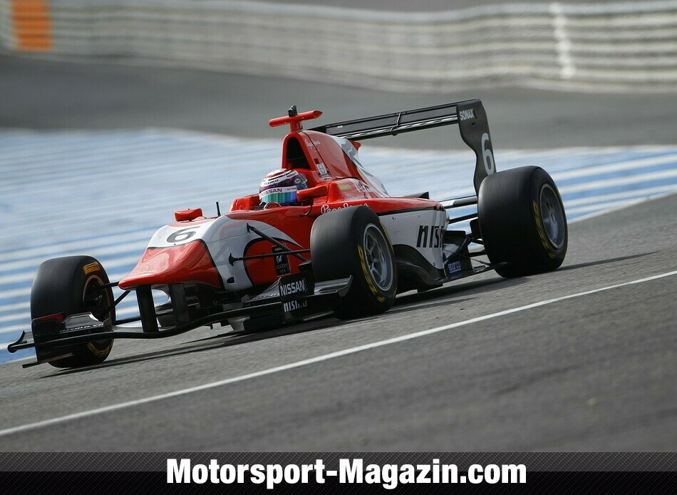 GP3 2014, Testfahrten, Jann Mardenborough, Arden International, Bild: GP3