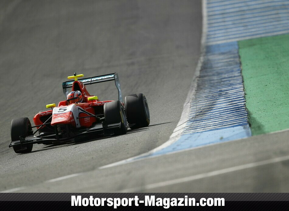 GP3 2014, Testfahrten, Patric Niederhauser, Arden International, Bild: GP3