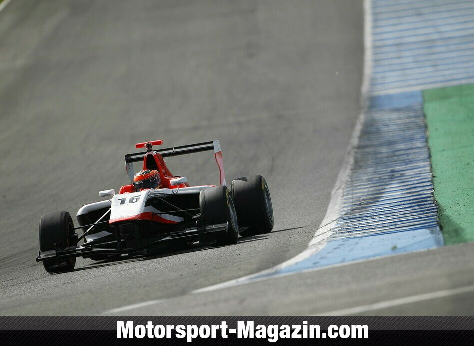 GP3 2014, Testfahrten, Dean Stoneman, Marussia Manor Racing, Bild: GP3