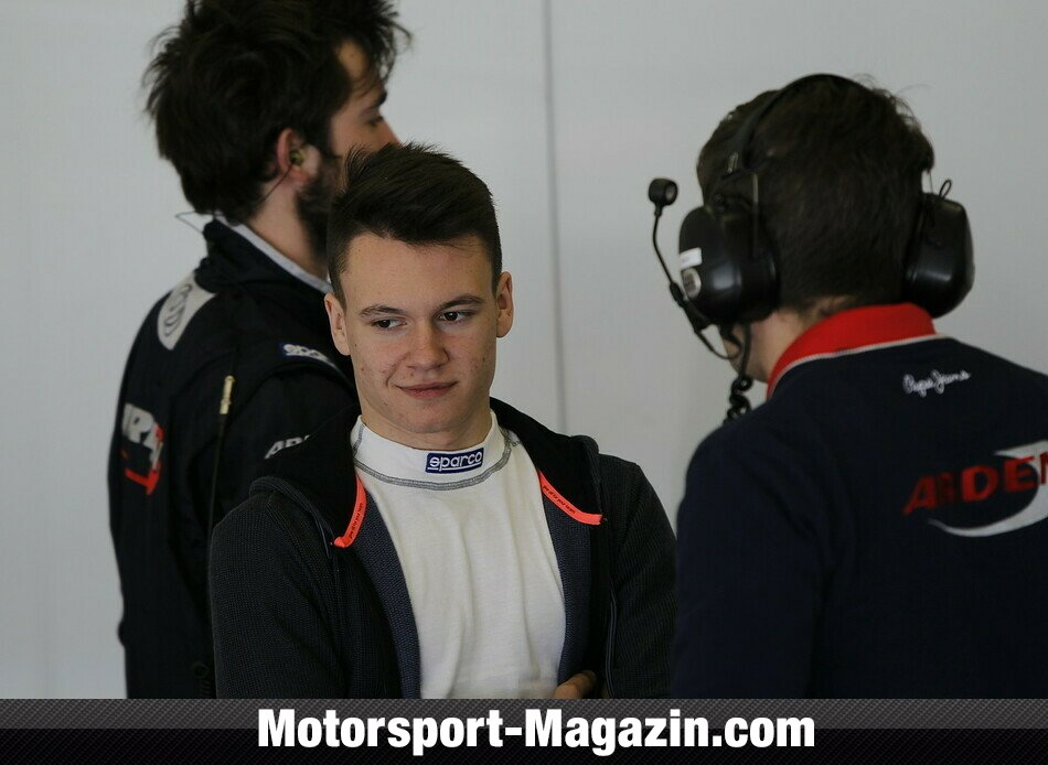 GP3 2014, Testfahrten, Robert Visoiu, Arden International, Bild: GP3