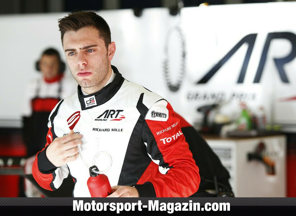 GP3 2014, Testfahrten, Dino Zamparelli, ART Grand Prix, Bild: GP3