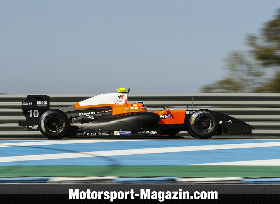 WS by Renault 2014, Testfahrten, Tio Ellinas, Tech 1 Racing, Bild: WS by Renault