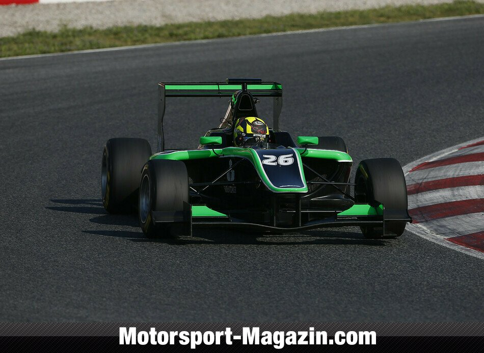GP3 2014, Testfahrten, Nick Yelloly, Status Grand Prix, Bild: GP3