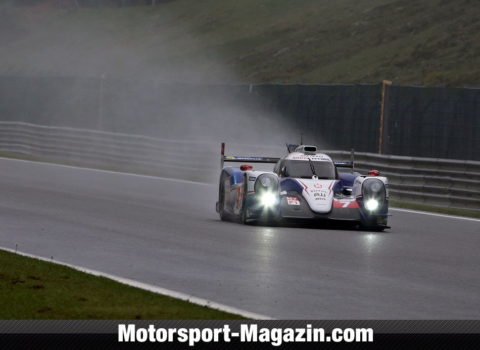 WEC 2014, Spa-Francorchamps, Spa-Francorchamps, Alexander Wurz, Toyota Racing, Bild: Speedpictures