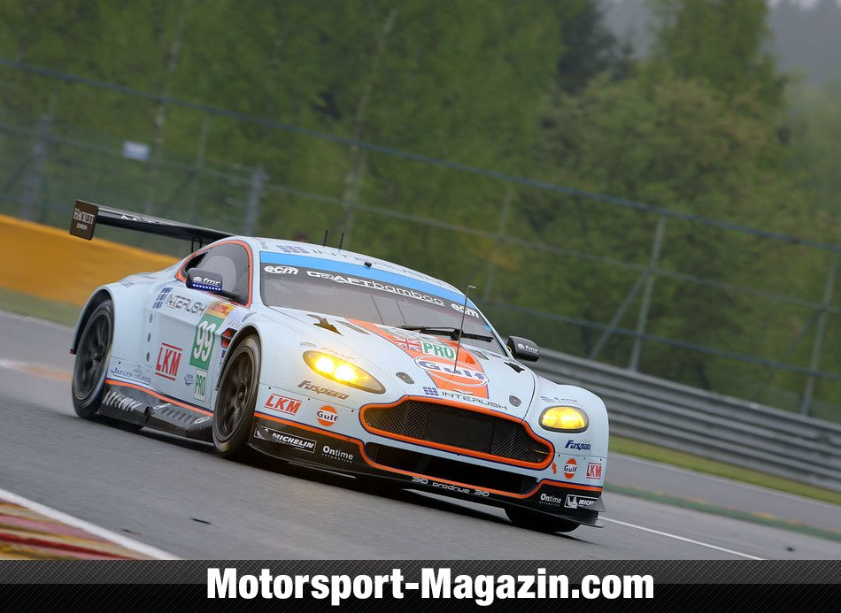 WEC 2014, Spa-Francorchamps, Spa-Francorchamps, Fernando Rees, Aston Martin Racing, Bild: Speedpictures