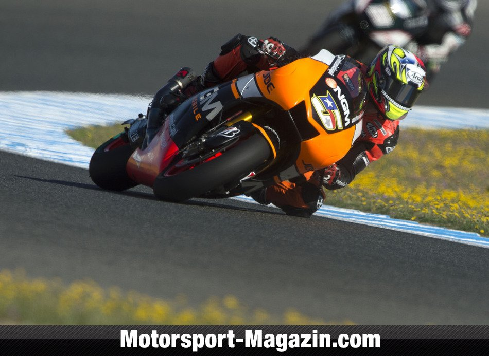 MotoGP 2014, Spanien GP, Jerez de la Frontera, Colin Edwards, Forward Team, Bild: Forward