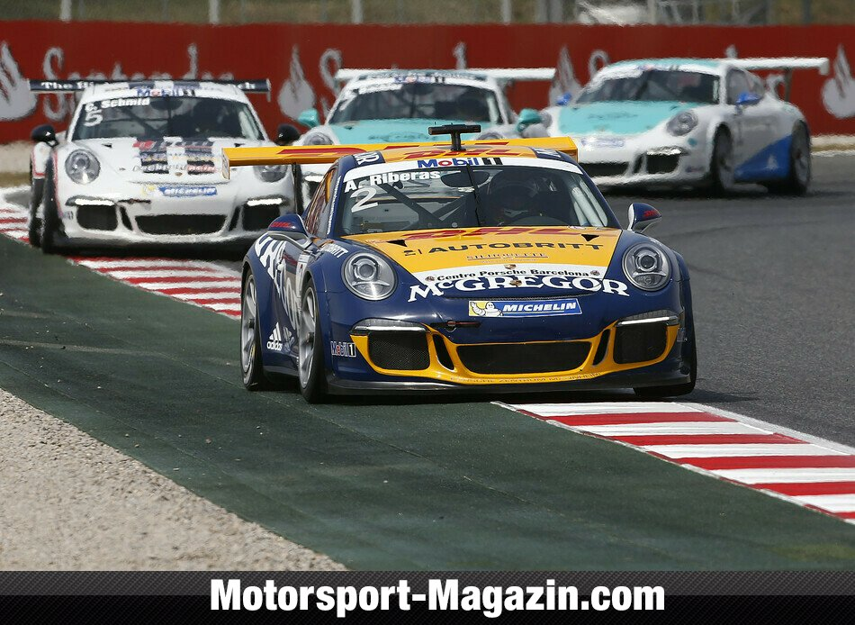 Supercup 2014, Barcelona, Barcelona, Alex Riberas, McGregor by Attempto Racing, Bild: Porsche