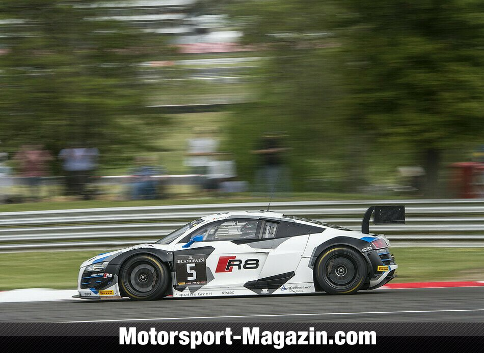 Blancpain GT Serien 2014, Brands Hatch (Sprint), Brands Hatch, Phoenix Racing, Bild: Brecht Decancq