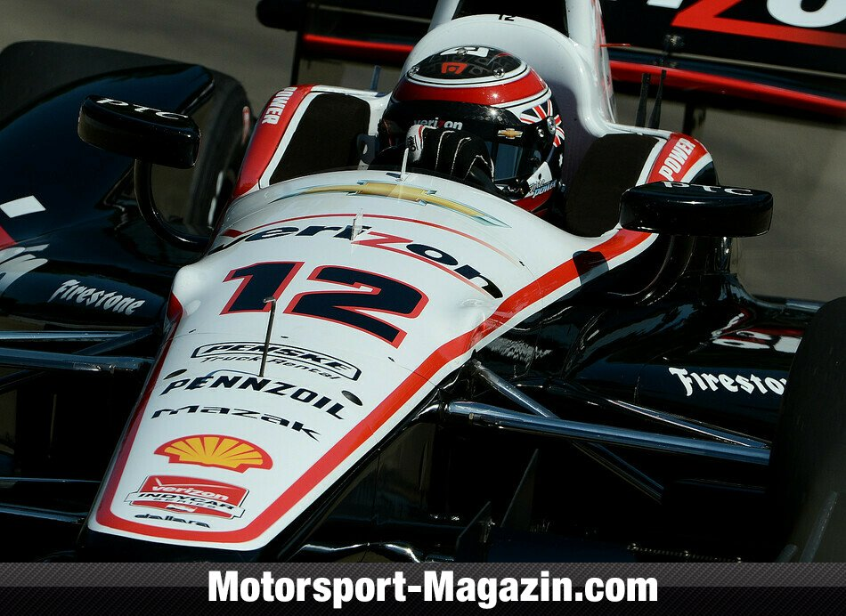 IndyCar 2014, Detroit, Detroit, Will Power, Team Penske, Bild: IndyCar
