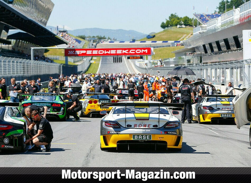 ADAC GT Masters 2014, Red Bull Ring, Red Bull Ring, ROWE Racing, Bild: ADAC GT Masters