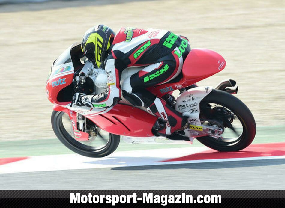 Moto3 2014, Catalunya GP, Barcelona, Luca Gr�nwald, Kiefer Racing, Bild: Kiefer Racing