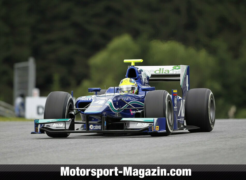 GP2 2014, Red-Bull-Ring, Spielberg, Julián Leal, Carlin, Bild: GP2 Series