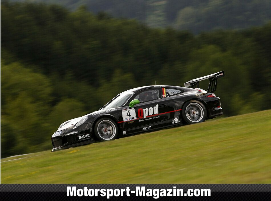 Supercup 2014, Red-Bull-Ring, Spielberg, Michael Ammermüller, Lechner Racing Team, Bild: Porsche