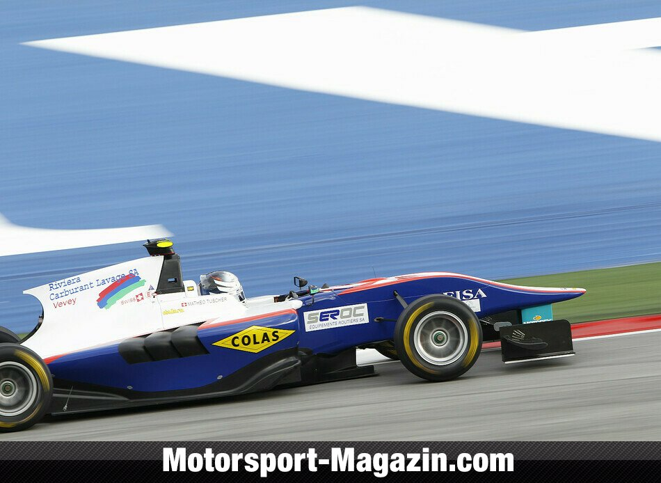 GP3 2014, Red-Bull-Ring, Spielberg, Math�o Tuscher, Jenzer Motorsport, Bild: GP3 Series