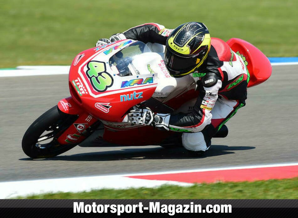 Moto3 2014, Niederlande GP, Assen, Luca Gr�nwald, Kiefer Racing, Bild: Kiefer Racing
