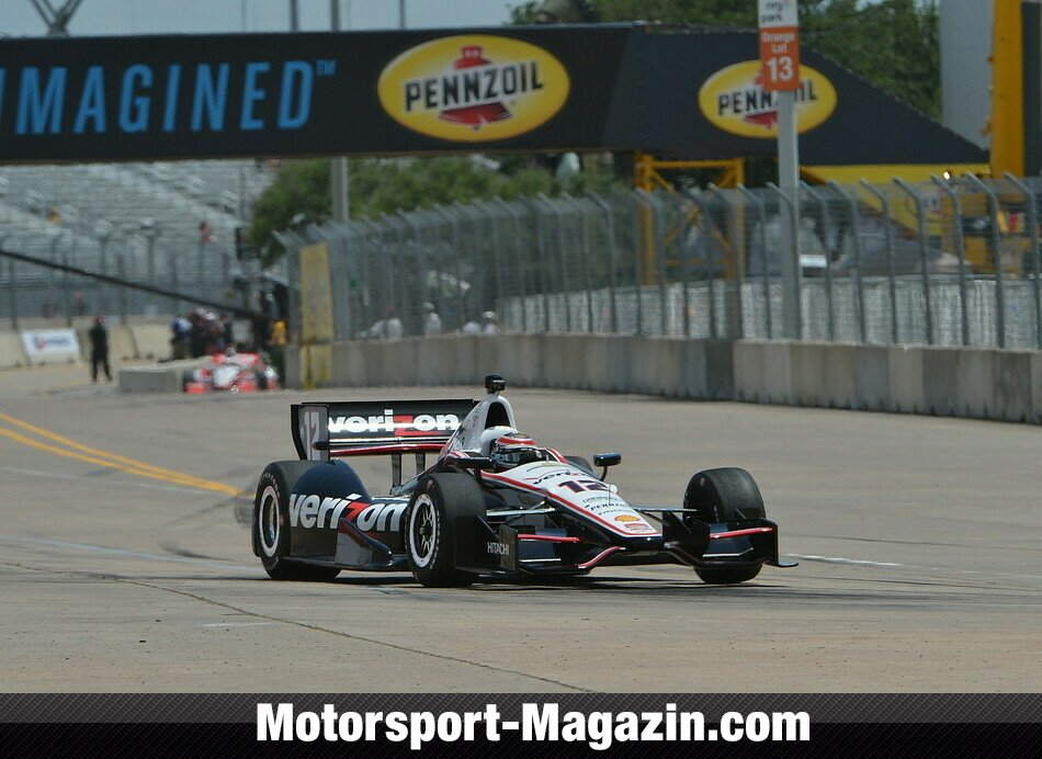 IndyCar 2014, Houston, Houston, Will Power, Team Penske, Bild: IndyCar