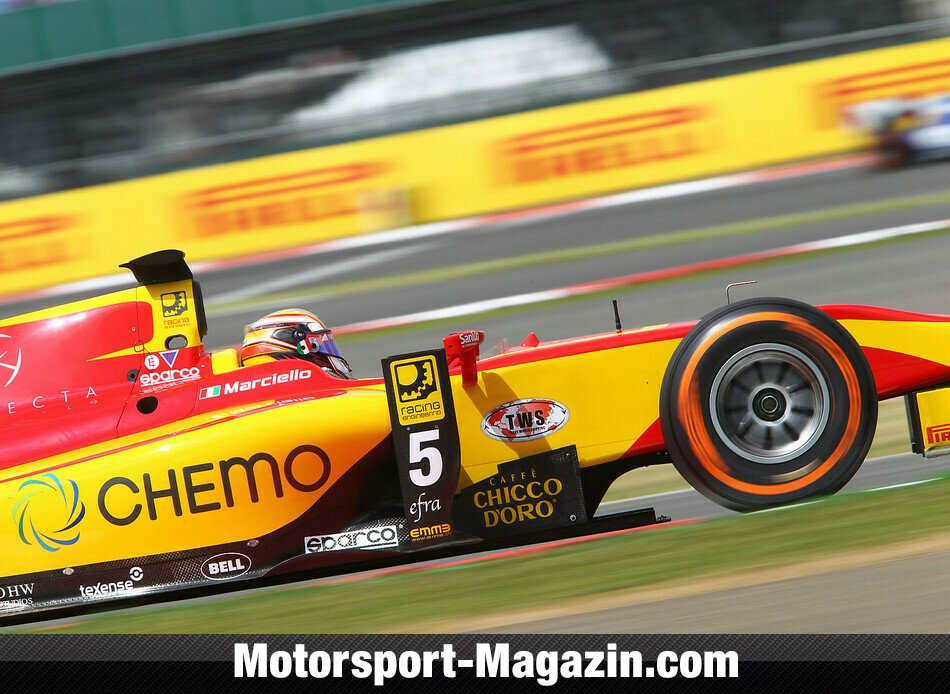 GP2 2014, Silverstone, Silverstone, Raffaele Marciello, Racing Engineering, Bild: GP2 Series