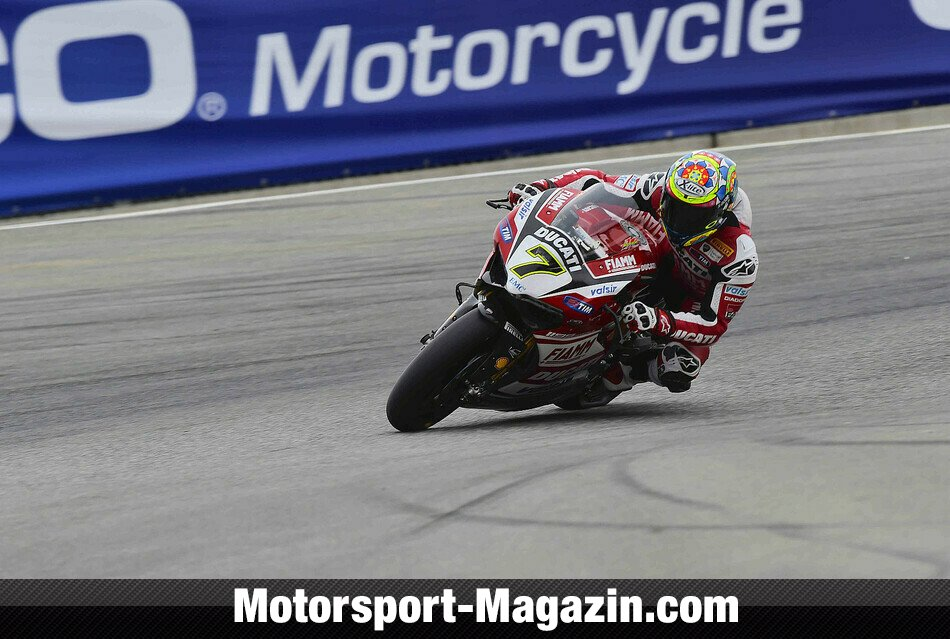 Superbike 2014, USA, Monterey, Chaz Davies, Ducati Superbike Team, Bild: World SBK