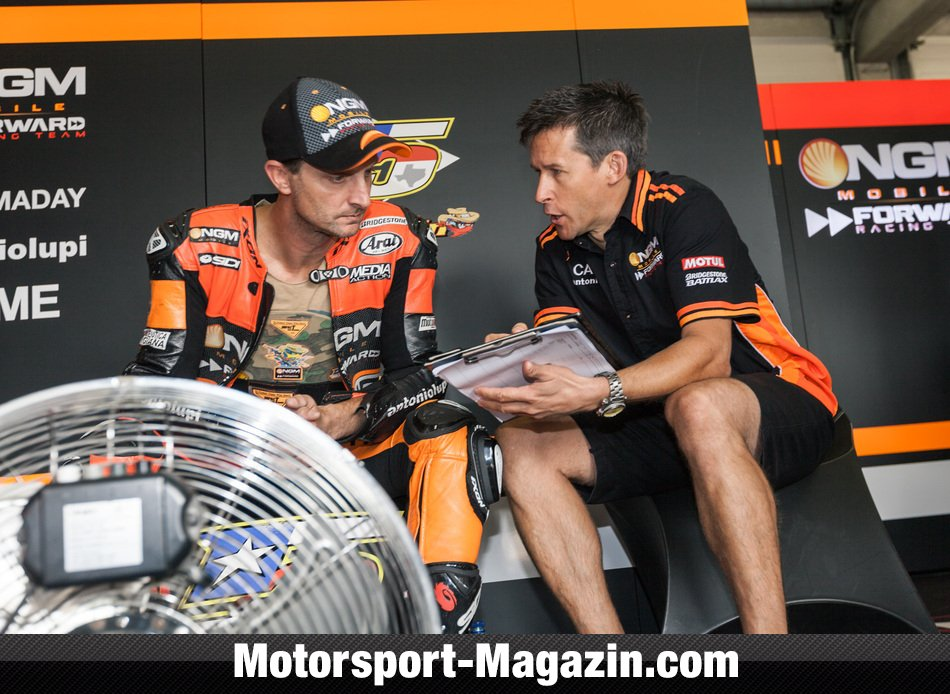 MotoGP 2014, Deutschland GP, Hohenstein-Ernstthal, Colin Edwards, NGM Mobile Forward Racing, Bild: Motorsport-Magazin.com/Simninja