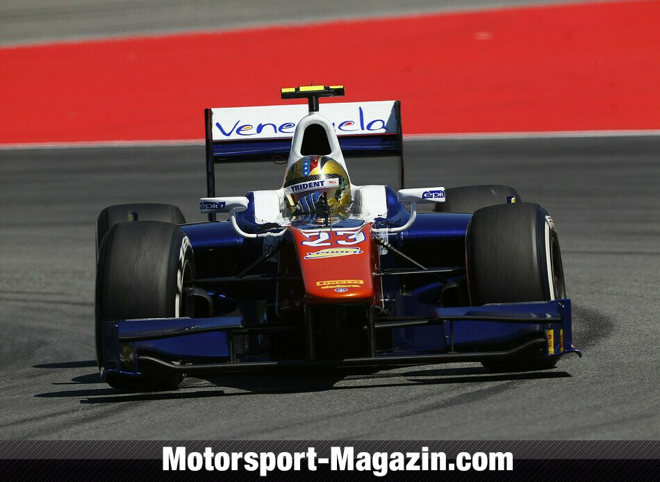 GP2 2014, Hockenheim, Hockenheim, Johnny Cecotto Junior, Trident Racing, Bild: GP2 Series